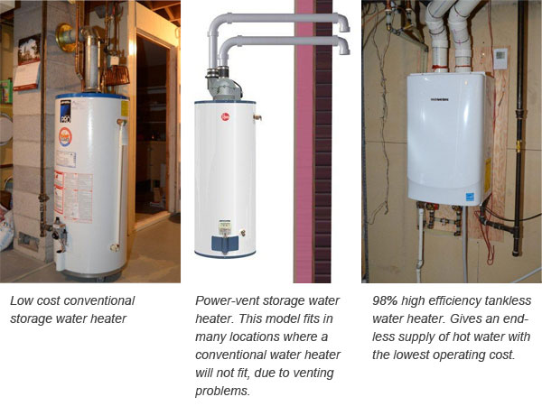 Ian\'s Furnace Service, Plumbing, and Air Conditioning - Water Heaters